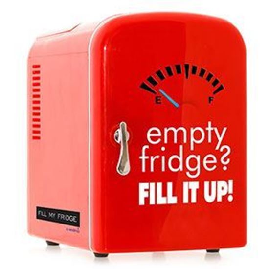 empty fridge? fill it up!